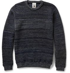 S.N.S. Herning Temporal Textured Wool Sweater | MR PORTER