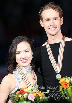 Madison Chock & Evan Bates: 2015 World Silver medalists in Ice Dance