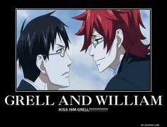 Grell Sutcliff x William T. Spears