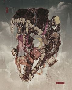 Beaten Heart by Tarin Yuangtrakul, via Behance