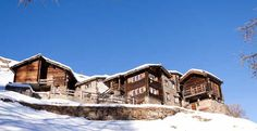 Chalet Castellino del Sole historic traditional swiss building (renovated) with 2 duplex-units and 2 studios above SAAS FEE Saas Fee, Real Estate, The Unit, Mansions, House Styles, Building, Studios, Travel, Traditional