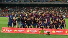 FC Barcelona - Club León (6-0) 18/08/2014