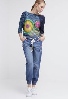 Desigual SIDIO - Jeans baggy - azul media noche - Zalando.it