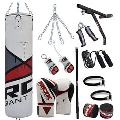 RDX 17pc Heavy Punching Bag Set,Boxing Gloves: RDX 17pc Heavy Punching Bag Set,Boxing Gloves RDX specializes in sports gear specific to a…