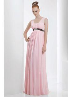 Empire Long Pink Vintage Bridesmaid Dresses Maternity Evening Bridesmaid Dresses Wedding Guest Dresses 501026