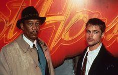 Seven 1995, Hall & Oates, Se7en, Morgan Freeman, Brad Pitt, Movies, Horror, Gems, Drawings