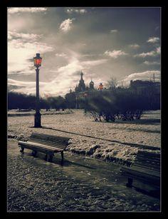In winter scenery - Saint Petersburg Copyright: Grzegorz Oczkowicz