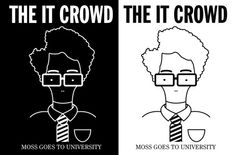 It Crowd, Going To University, Caricature, Fries, Video Games, Comic, Punk, Humor, Fictional Characters