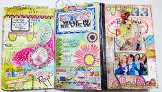 Week Seven Planner Pages by Roben-Marie, via Flickr