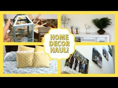 Home Decor Haul! HomeGoods, Target, Pier1 Imports - YouTube