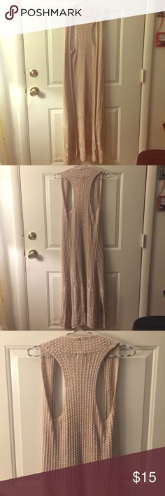 SIZE XS• 70'S NUDE KNIT SLEEVELESS DUSTER VEST EUC• 100% COTTON• NUDE/BEIGE COLOR• VINTAGE STYLE    🛍Bundle for 10% discount 🛍 🚭Smoke free• Pet free 🐱🐶 🔹Top Rated Seller• Quick Shipping🔹 🙅🏽🚫NO TRADES 🚫🙅🏽 Mossimo Supply Co. Jackets & Coats Vests