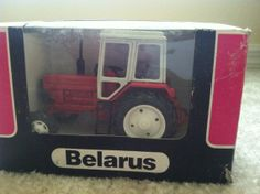 Belarus Tractor made in USSR April 1990 1.43 Scale por MysticWorld, $39.99 Tractors, Daily Deals, How To Make, Etsy, Vintage, Templates, Scale Model, The Originals, Crates