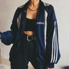 Imagen de fashion, adidas, and outfit Teen Fashion Outfits, Sporty Outfits, Retro Outfits, Stylish Outfits, Vintage Outfits, Mode Swag, Jugend Mode Outfits, Vetement Fashion, Cute Comfy Outfits