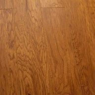 Smooth Click Lock Hickory Autumn Laminate Flooring