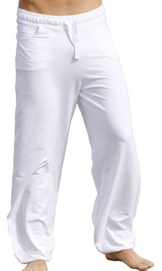 Simple White Yoga Pants   Divine White Yoga Pants 9ce41bd32b47