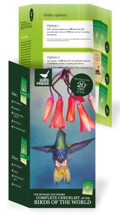 Aves Press - Trifold Promotional Booklet
