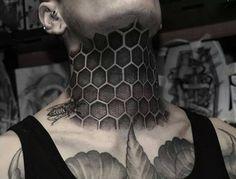 Kết quả hình ảnh cho hexagon tattoo