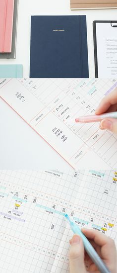 The most practical planner for managing projects? We think so! Plan your work projects in detail and keep track of each step of the process with the Large Project Planner. Success is only one beautiful planner away, so productivity, here we come!