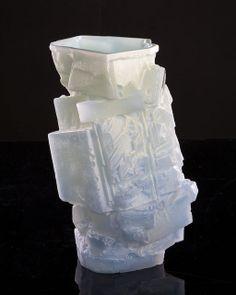 """Thaddeus Wolfe, """"Assemblage"""" vase (2012)"""