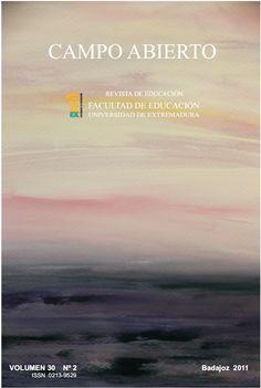 Campo Abierto. Servicio de Publicaciones de la Universidad de Extremadura. Facultad de Educación