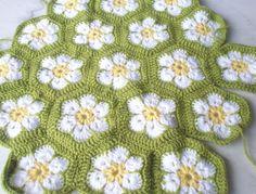 African Flower Crochet: color inspiration