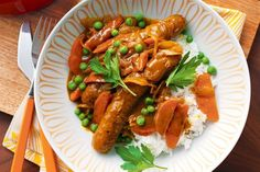 Curried sausages Healthy Sausage Recipes, Beef Recipes, Easy Recipes, Beef Meals, Curried Sausages, How To Cook Sausage, Pasta, Latest Recipe, Thermomix