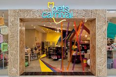 Pet Store Design - Colorful entry