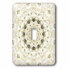 3drose elegant gemstone decorative ring mandala double toggle switch