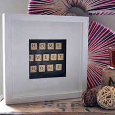 DIY Scrabble Tile Crafts: Fun Gifts & Home Decor That You Can Make With Scrabble Tiles - The Fun Times Guide to Games, Just love this!