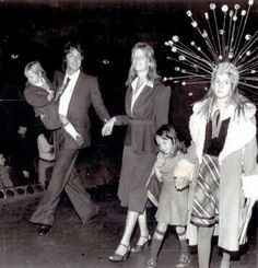 Paul and his girls Heather Mccartney, Paul And Linda Mccartney, Happy 50th Birthday, Step Kids, Great Bands, John Lennon, The Beatles, Concert