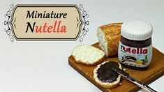 Nutella inspired Miniature - Polymer clay tutorial - Published on Jan 28, 2015 Hi guys! I use to love Nutella as a child, so today we're doing that in miniature ^^ These are in 1:12 scale, but you can make them in any size you want and add headpins to make them charms :) I used a mix of the polymer clay brands Fimo and Cernit in this video, but you can use any brand you like. The liquid clay I use is from the brand Fimo.  Thank you so much for watching, I hope you enjoyed this video ^^
