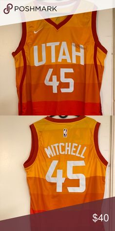 d6ec7559 Donovan Mitchell #45 Utah Jazz City Jersey Brand new with tag, all the  numbers