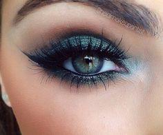 Gorgeous night makeup!