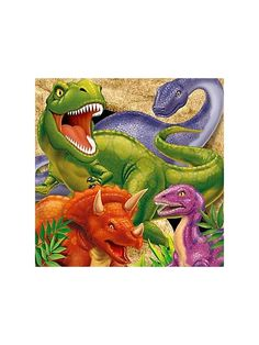 Dinosaur Adventure Napkin