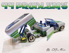 Custom. Lowrider Model Cars, Diecast Model Cars, Carrera Slot Cars, Hydraulic Cars, Rc Model, Model Kits, Lowered Trucks, Custom Hot Wheels, Mustang Convertible