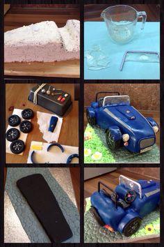 Westfield sports car kit car cake