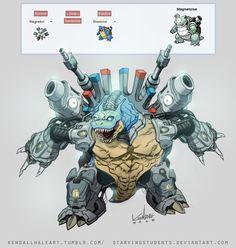 Pokemon fusion Magnetoise