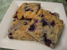 Low carb blueberry scones c. Carbalose flour ½ c. CarbQuick bake mix ¼ c.