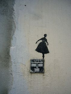 Street Art in Bergen, Norway (photo by cicilief, flickr)