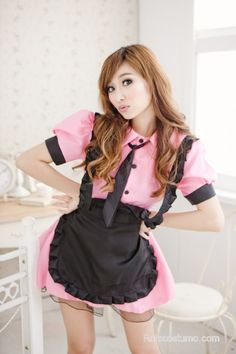 For Promotion Hot Sales Supply Adults Sexy Maid Costume For Women Fancy Dress Sexy Beer Girl Oktoberfest Costume Cosplay French Maid Dress, French Maid Costume, White Dresses For Women, Sexy Dresses, Oktoberfest Costume, Asian Cosplay, Beer Girl, Maid Uniform, Costume Dress