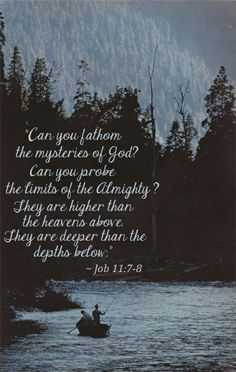 Job 11:7-8