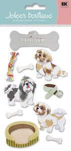 Pets > Dogs > Shih Tzu Stickers - Jolee's Boutique: Stickers Galore