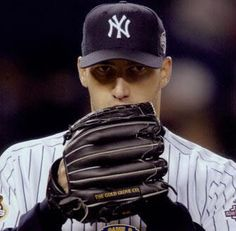 Andy Pettitte...the most intimidating stare down in MLB.