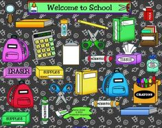 Back-to-School SMARTBoard Game Template product from ChangeTheStation on TeachersNotebook.com