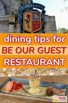 Tipps für das Essen bei Be Our Guest im Jahr 2020 - Family Travel tips - Disney World Tips And Tricks, Disney Tips, Disney Food, Disney 2015, Disney Ideas, Disney Stuff, Disney World Florida, Walt Disney World Vacations, Disney Parks
