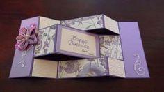 step card or tri-shutter card