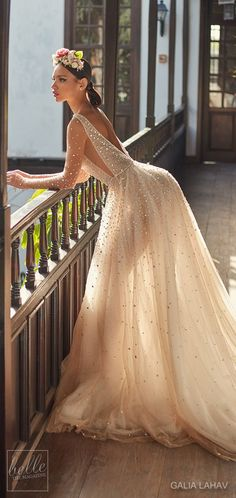 Wedding dress by Galia Lahav Couture Bridal - Fall 2018 - Florence by Night - Amaya #weddingdress