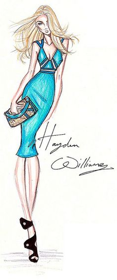 Hayden Williams Spring/Summer 2011 Ad Campaign. #Fashion #Illustration