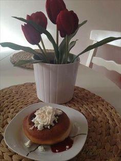Zobrazit detail - Recept - Koblihy domácí Pudding, Desserts, Food, Pineapple, Tailgate Desserts, Deserts, Custard Pudding, Essen, Puddings
