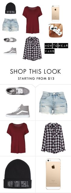 """""""How to Wear Vans"""" by askingalex6 on Polyvore featuring Vans, BLANKNYC and Rails"""
